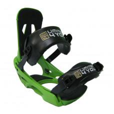 Крепления для сноуборда Limited4you SixZero Green