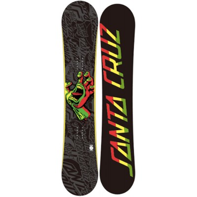 Сноуборд Santa Cruz Screaming Hand Rasta