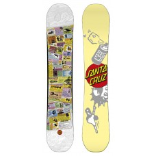 Сноуборд Santa Cruz Skata Curb White