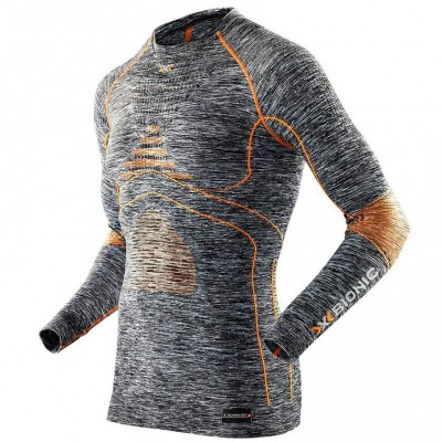 Мужская термофутболка X-Bionic Energy Accumulator Evo Melange Shirt Long Sleeves